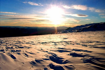 Каракольские озера (зима)